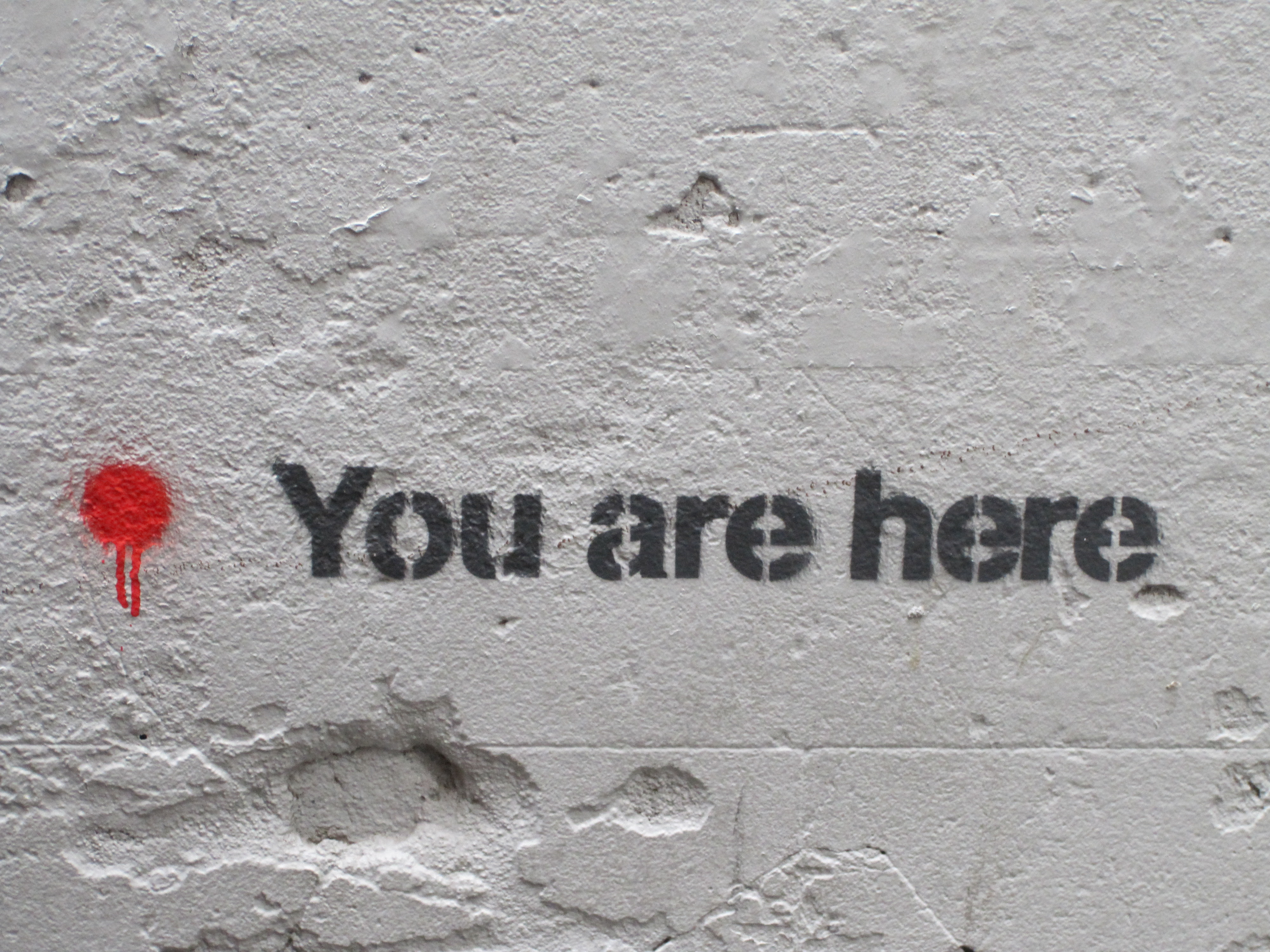 You Are Here – Street Art In Melbourne Australia
