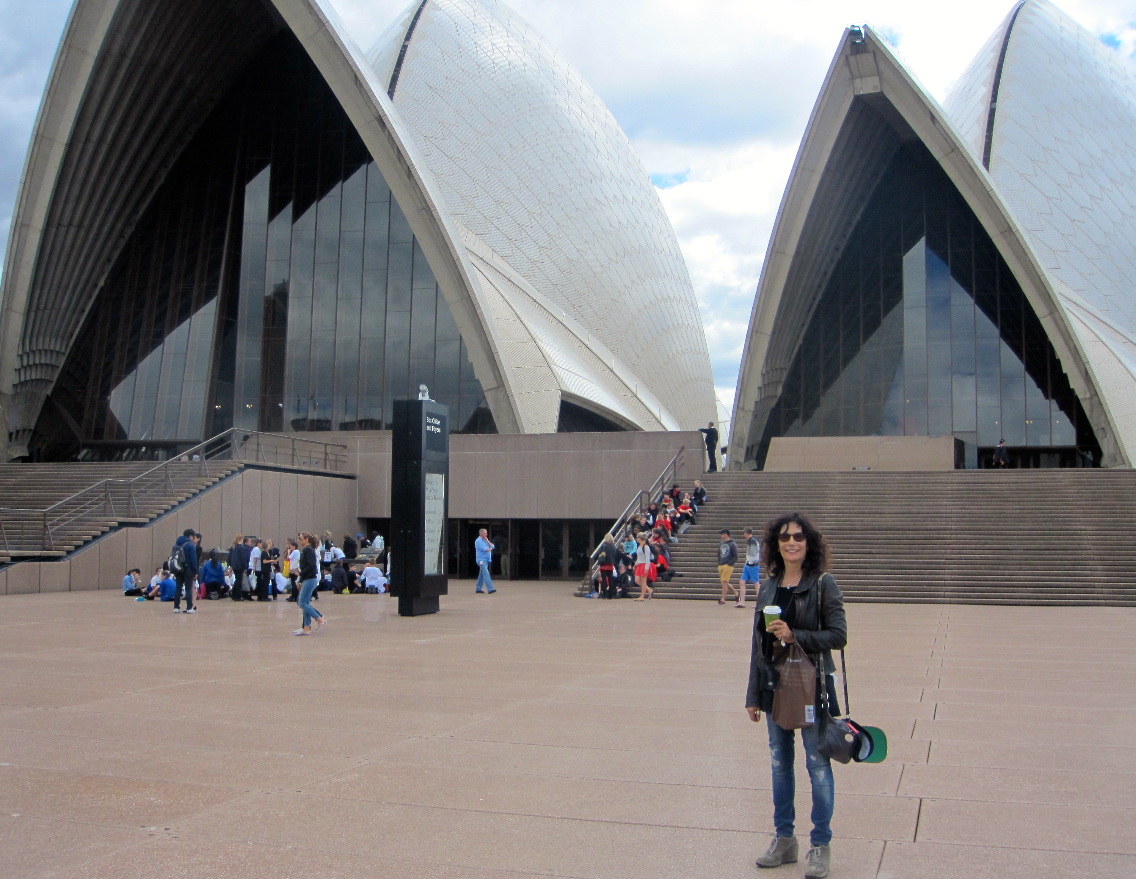 Western Foyer Box Office Opera House : Jorn utzon travel well fly safe