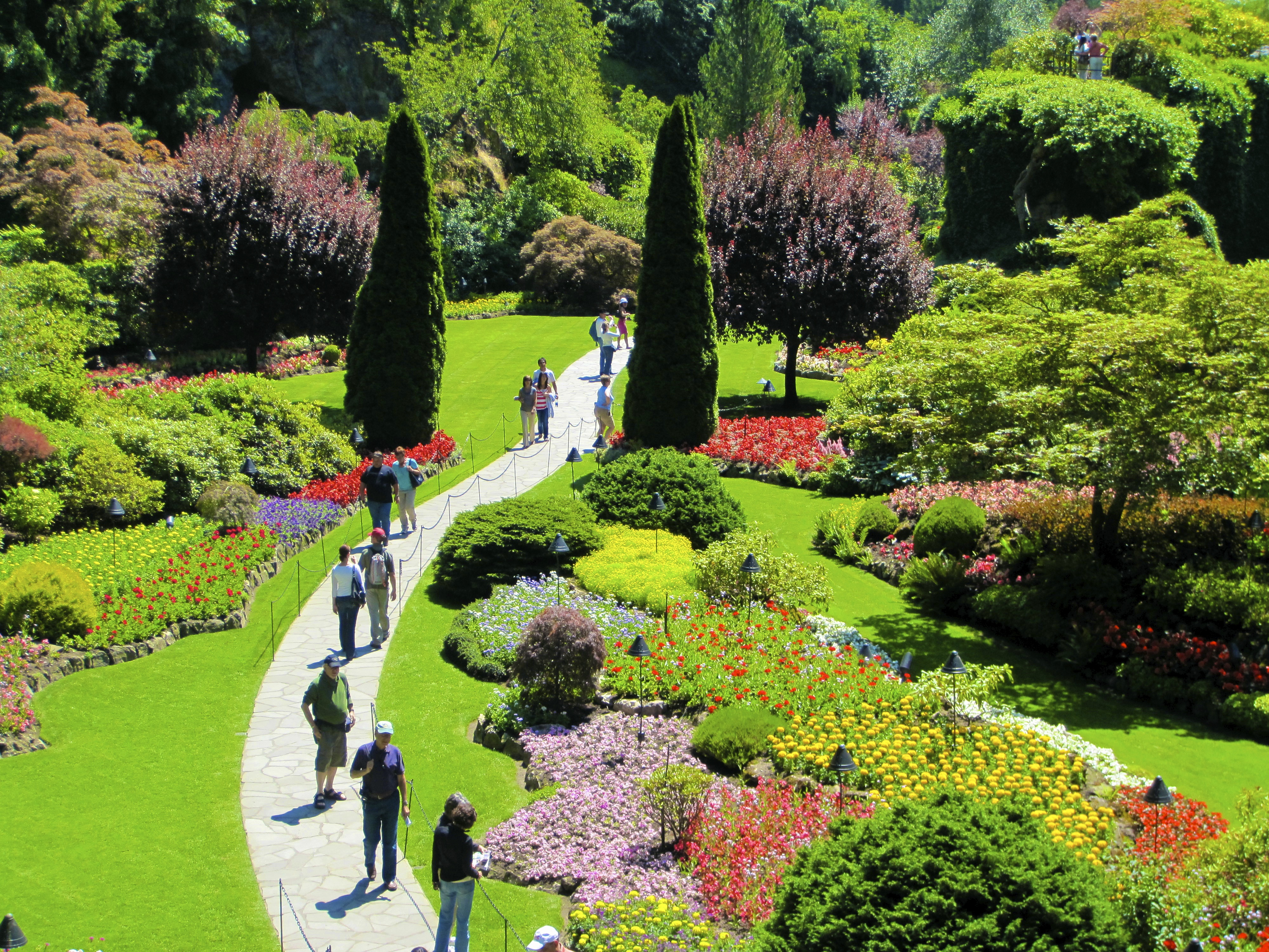 Butchart gardens travel well fly safe img1968 thecheapjerseys Images